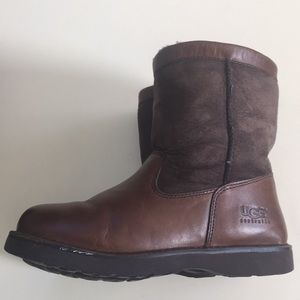 Women's UGG Brown Birch Leather Size 5